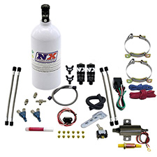 Nitrous Express 15512 0-100 psi Fuel Pressure Gauge with Manifold